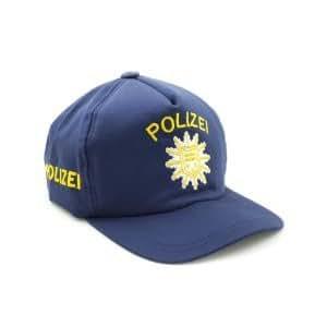 Casquette de policier en toile
