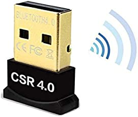 A N Enterprise Bluetooth 4.0 Adapter, 20m - 50m USB Mini Wireless Dongle Adapter Audio Transmitter for PC Laptop Windows98,98se,me,2000,xp,Vista,Windows 7/8/10