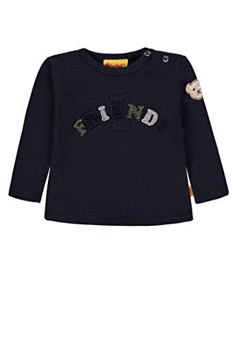 Steiff Steiff Baby - Jungen T-Shirt 1/1 Arm Langarmshirt, per Pack Blau (Marine|Blue 3032), 62 (Herstellergröße: 62)