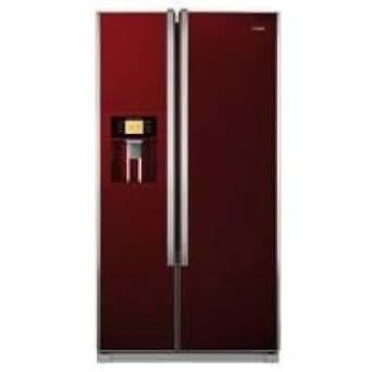 Haier HRF-663CJR frigo américain - frigos américains (Autonome, Rouge, A+, LCD)