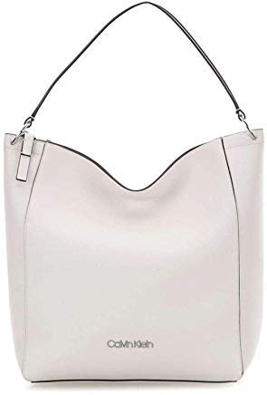 Calvin Klein Hobo Bag (Calvin Klein Strap Hobo Bright White)