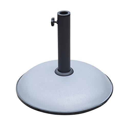 outsunnyr-schirmstander-rund-sonnenschirmstander-sonnenschirmfuss-basis-20kg-stahlrohrmodell1