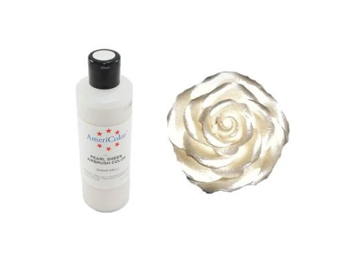 Amerimist White Sheen Pearl 4.5 Oz Cake Decorating Color
