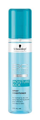 Schwarzkopf 10390 BC Moisture Kick Spray Conditioner, 200 ml, 1er Pack, (1 x 0,2 - Spray Bc Conditioner
