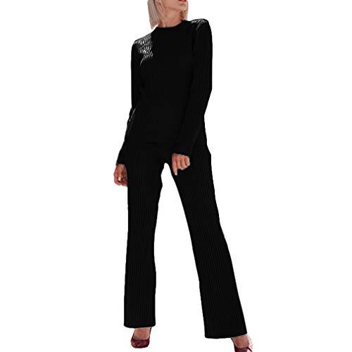 Junkai Survêtement à Manches Longues pour Femmes Sweatshirt Pulls +  Pantalons Jogging Costume Lounge Wear Sport 7968a5f27b5