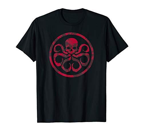 Marvel Hail Hydra Camo Print Graphic  T-Shirt -