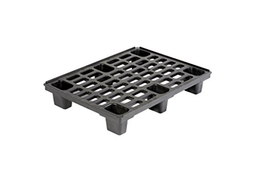 Small Nestable Plastic Pallet 800x600mm (STACK of 4) Test
