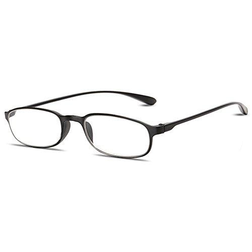 VEVESMUNDO Lesebrille Damen Herren Flexibel Lesehilfe Sehhilfe Brille Augenoptik mit Langer Bügel...