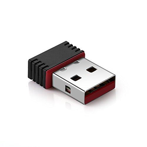 Motorize - Wlan USB Stick - wlan adapter samsung TV - Wifi adapter PC und Mac, Laptop und andere Geräte - schnell und leistungsstark - Mac OS und Windows 8/9/10 - Wireless - Adapter - wlan stick für samsung tv - RTL8188CUS