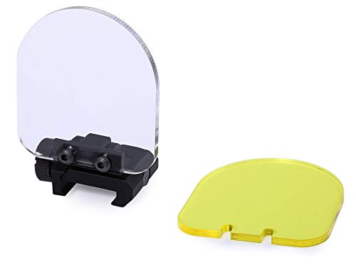 Kayheng Airsoft Lens Protector Sight Cover Foldable Shield Linsenschutz