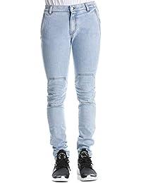 9807a9c97e Versus Versace Pantaloni Jeans Uomo Primavera Estate Art BU40541 B8368 P19