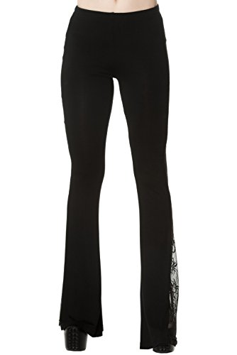 Banned -  Leggings  - Basic - Donna nero L