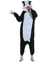 Pijama Oso Panda Animal Cuerpo Entero Mujer Familiar Navidad Halloween Disfraz