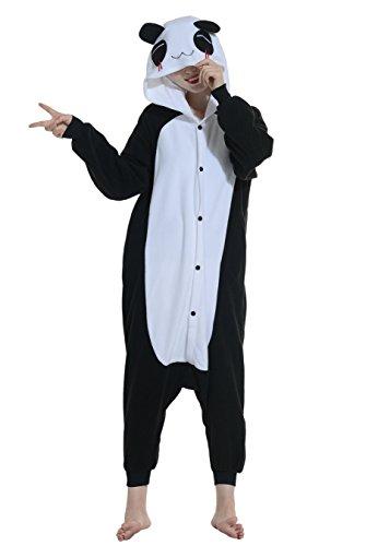 Pyjama-Panda-Animaux-Chandail-Deguisement-Integrale-Jumpsuit-Kigurumi-Nol-Halloween-Hiver