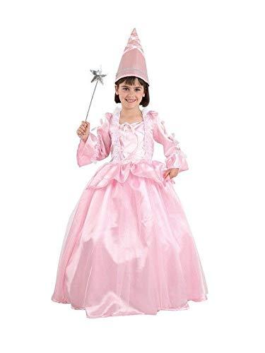 DISBACANAL Disfraz Hada Madrina Rosa - Único, 8 años