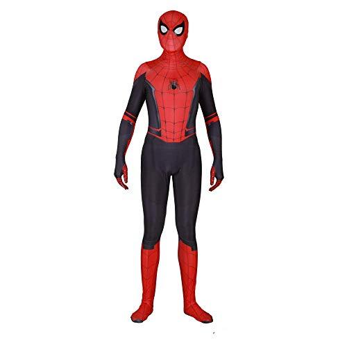 chsene Kind Spiderman Kostüm Spiderman Homecoming Kostüm Cosplay Halloween Overall Kostümfest Requisiten Body,D,Adult/L ()