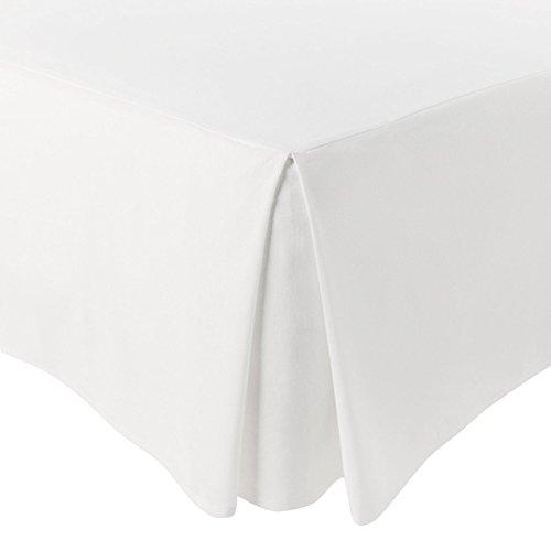 Jarrous Cubre Canapé Modelo Pierre, Color Blanco, Medida para Cama de 90