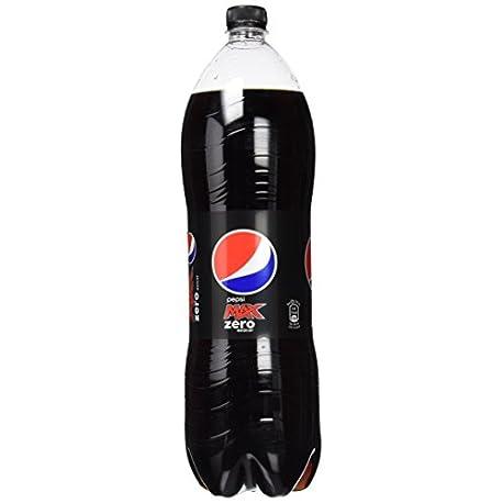 Pepsi Max Bebida Refrescante Aromatizada con Edulcorantes 2000 ml Pack de 6