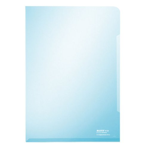 Leitz Sichthülle Super Premium, A4, PVC, dokumentenecht, blau
