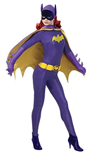 Heritage Kostüm Batman - Rubie 's Offizielles/Damen/Batgirl Grand Heritage Batman Kostüm - Medium