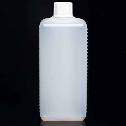 100x 500 ml naturfarbene Kanisterflasche (HDPE) Leerflasche Flasche Selbstabfüller