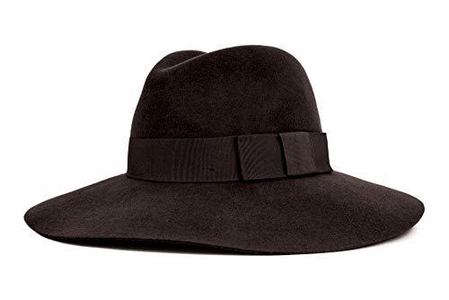 Brixton Damen Womens Hat PIPER  Black/Black, S