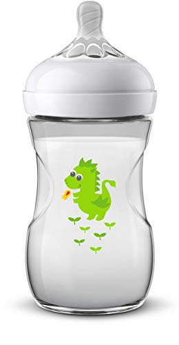 Philips Avent SCF070/24 - Biberón Natural de 260 ml, Dragón