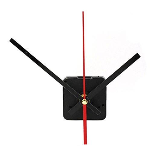 Malloom® Alta calidad DIY cuarzo interior Mecanismo movimiento del reloj con agujas (C)
