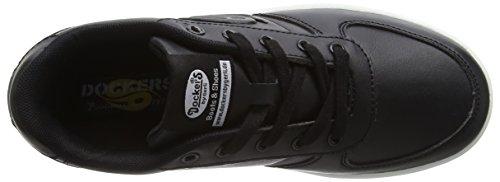 Dockers by Gerli 38di601-610, Sneakers basses mixte enfant Noir (Schwarz 100)