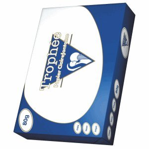 Preisvergleich Produktbild Clairefontaine Kopierpapier Trophee A4 80g/qm weiß VE=500 Blatt