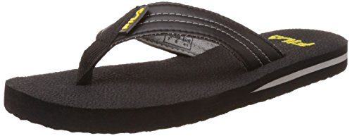 Fila Men's Pamper Black Flip Flops Thong Sandals -7 UK/India (41 EU)  available at amazon for Rs.269