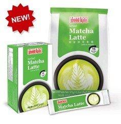 GOLD KILI Instant MATCHA Latte Getränk [10 x 25g] Matcha Latte 抹茶