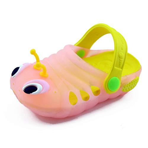 Junjie Sommer Kleinkind Baby Jungen Mädchen niedlichen Cartoon Strand Sandalen Hausschuhe Flip 29 Sandalen Mädchen Schuhe grün, blau, rosa, orange