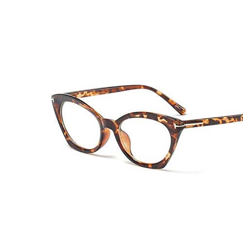 2019 cat eye frauen brille transparent mode klar computer feminine brille Retro Optische brillengestell weibliche klasse