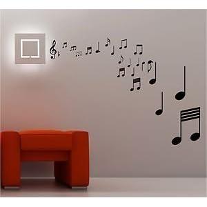 14851 regalo divertido para profesor de m/úsica Bonito posavasos de notas musicales 3D