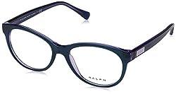 Ralph Lauren Damen Brillengestelle 0RA7094, Blau (Shiny Purple On Violet), 54