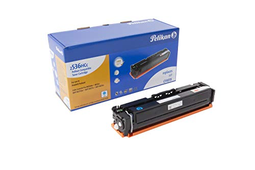 Pelikan Toner 4283825 ersetzt HP CF401X (für Drucker HP Colour LaserJet Pro M252DW, M252n) cyan