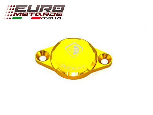 Ducati Monster 1100 Ducabike Italy Timing Inspection Cover Gold