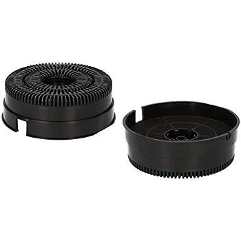 Kohlefilter für Dunstabzugshaube Ø142 mm Whirlpool 484000008782 AKB000// 2 Stück