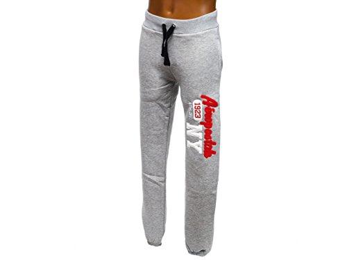 aeropostale-pantaloni-sportivi-uomo-grigio-xs