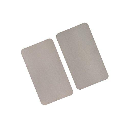 RFID / NFC Abschirmeinlage für Geldbörsen und Brieftaschen. Inhalt: 2 Stücke mit je 14,5 cm x 8,3 cm in der Größe eines 200 Euro Scheines. Die Einlage ist extrem dünn. (Beige Herren Geldbörse)