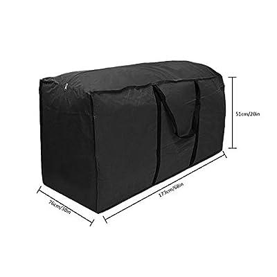 Patio-Möbel Kissen, Aufbewahrungstasche, wasserdicht leicht Carry Handtasche für Outdoor Garten Kissen Pad von Lembeauty - Gartenmöbel von Du und Dein Garten