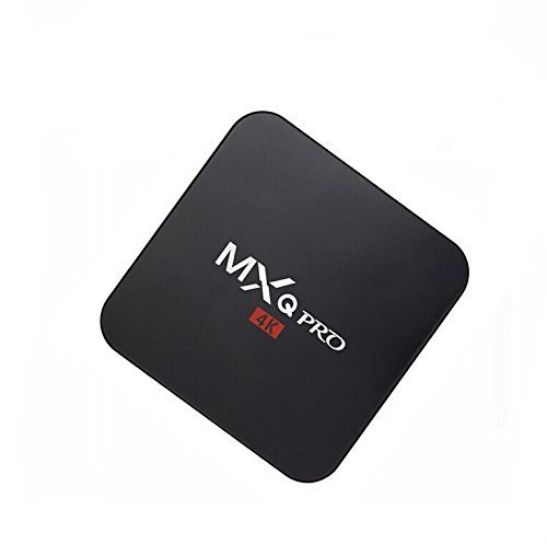 MXQ Pro 4K Ultra HD TV Box - KODI  Android 5 1  64Bit Amlogic S905 Quad Core  H 265 4K Decoding