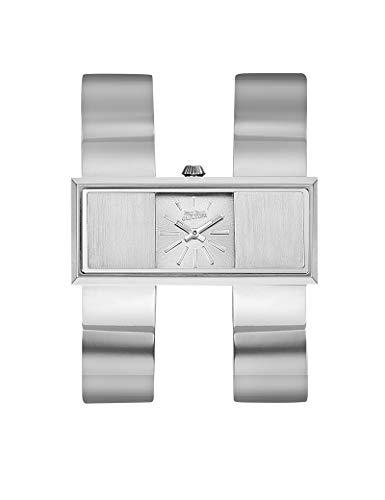 Reloj Jean Paul Gaultier en acero gris–mujer–20mm x 46mm