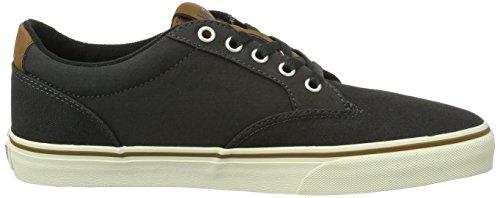 Vans Mn Winston, Sneakers Basses Homme Noir (C And L Black)