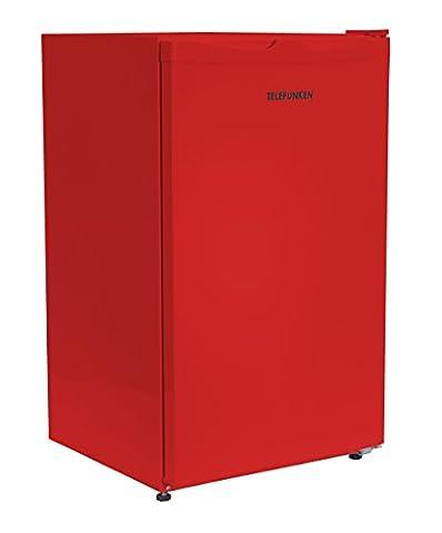 Telefunken CF-33-100-R Kühlschrank / A+ / 82.1 cm / 113 kWh/Jahr / 88 L Kühlteil / Türanschlag wechselbar / Höhenverstellbare