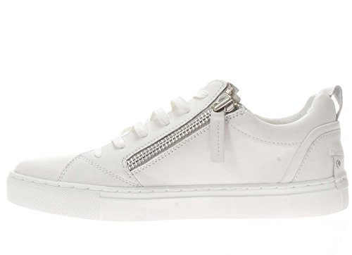 Crime London Uomo Sneaker 11303 10 C10M Sneaker bassa Bianco