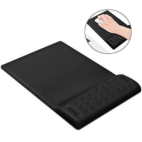 Powcan Gedächtnis Schaum-Nicht Beleg Mausunterlage Handgelenk Rest ergonomische Mausunterlage Matte (Model 4)