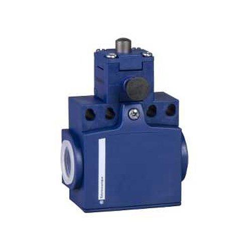 Schneider Electric xcntr2710p16limite Interruttore 2P M16, Plastica 2-conduit 95x 60x 40mm in metallo pistone 2NC (Conduit Pistone)