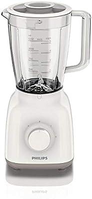 Philips HR2102 Jug Blender 400 Watts - White